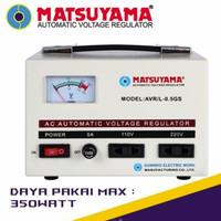 Stabilizer Stavol MATSUYAMA 1 Phase 500watt 500 VA AVR Stavolt