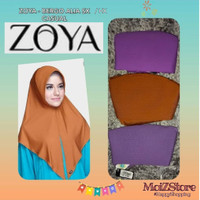 Jilbab Instan Hijab Instant Bergo Kerudung Langsung Alia SX/HX Zoya