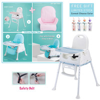 BABY CHAIR SEAT SCOOTER BOOSTER / KURSI MAKAN MAIN BAYI DENGAN SCOOTER