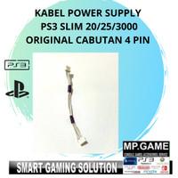Kabel Soket Power Supply PS3 Slim/ Mesin PS3 4pin