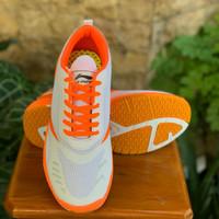 sepatu lining - putih hijau, 43