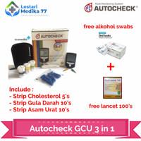 autocheck alat cek GCU 3 in 1 - include strip