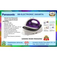 Panasonic Cordless Steam Iron/Setrika Uap Tanpa Kabel NI WL30