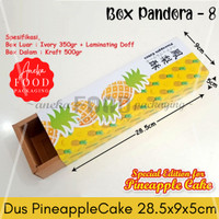 Dus kotak kue nastar taiwan pineapple kue nanas (Pandora 8)