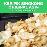 Keripik Singkong Original Asin Kripik Snack Kiloan Enak Murah Grosir