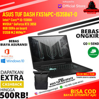 Asus TUF Dash FX516PC-I535B6T-O i5-11300H RTX3050 8GB 512GB SSD 144Hz
