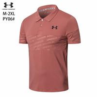 Baju Kaos Polo PY06 Atasan Olahraga Pria Gym Outdoor Running Golf