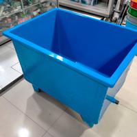 bak ikan fiberglass / aquarium ikan / kolam ikan fiberglass - tanpa kaca