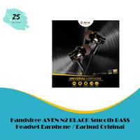 Handsfree AVEN N2 BLACK Smooth BASS Headset Earphone / Earbud Original