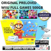 NINTENDO WII U/ WII--U/ WIIU LIMITED EDITION FULL GAMES 500GB