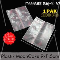 Plastik cookies kue bulan MOONCAKE dessert 9x11.5cm (10-A2)