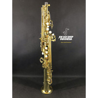 Soprano Saxophone Alesaandro Italy Gold