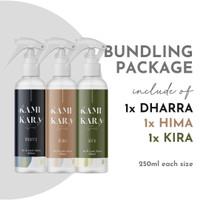 KAMIKARA Air and Linen Spray (Pengharum baju dan Ruangan) - BUNDLE SET