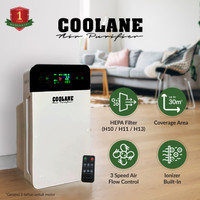 COOLANE Air Purifier HEPA Filter Penyaring Udara
