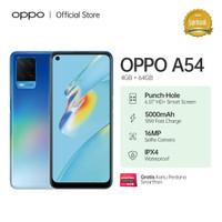 OPPO A54 Smartphone 4GB/64GB (Garansi Resmi) - Biru