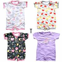 Baju Bayi Jumper Segiempat Libby 3-6 bulan
