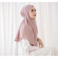 Bergo Azkia / hijab instan/ jilbab instant 70x70 - coksu