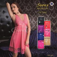 Baju tidur wanita seksi premium lingerie sorex exclusive bt 7004