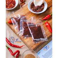 Sambel Kerupuk/Kemplang Panggang/Bakar Khas Bangka dari Tiara Snack