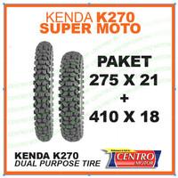 Paket Ban KENDA K270 275x21+410x18 untuk KLX/CRF