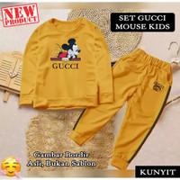 Baju Setelan Pakaian Olahraga Anak Perempuan GCI Mickey KIDS