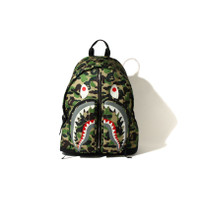 Bape ABC Camo Shark Daypack Bagpack Tas Ransel Limited Rare Item