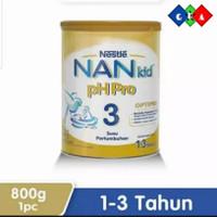 nan kid ph pro 3 800gr / susu pertumbuhan anak 1-3th NAN KID PH PRO 3