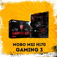Mobo MSI H170 GAMING M3 Skylake Kabylake 1151 Gen 6 n 7 PC Gaming