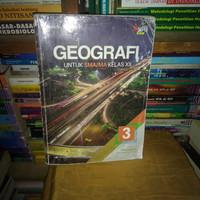 buku geografi SMA/ MA kelas 3-12 penerbit Erlangga