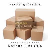 Kardus packing khusus ikan TIKI ONS Warunk Aquarium