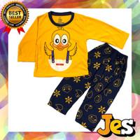 Baju setelan panjang anak laki-laki babyduck usia 1-10 tahun - 1thn