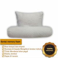 bantal guling hotel busa inoac soft memory foam sepasang