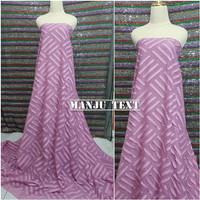 kain Ciffon Rubiah motif lurus /bahan sifon/cocok untuk dress gaun dll