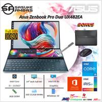 Asus ZenBook Pro Duo i5-1135G7 512GB SSD 8GB IRIS XE 14FHD Win10+OHS