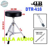 bangku drum db percussion kursi dtr416