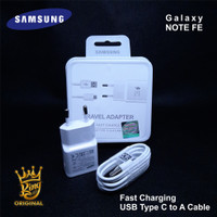 Charger Samsung Galaxy Note FE Fast Charger Original 100% Putih