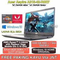 LAPTOP Acer Aspire A315-42-R0R7 Ryzen 3 RAM-4GB-LAYAR 15INC-HDD 1TB