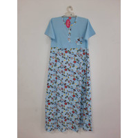 Gamis / Baby doll / Baju Tidur Wanita, Minnie - Biru Muda