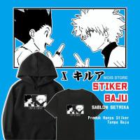 stiker baju setrika Anime Hunter X Hunter