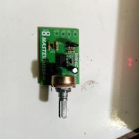 kit master mixer 1 potensio audio rakitan barang sudah di uji dipabri