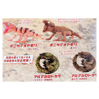 Gachapon 1/1 Onitama Oyamori & Armadillo Lizard set 4