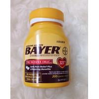 Bayer Aspirin 325 mg Coated Tablets 200 TB