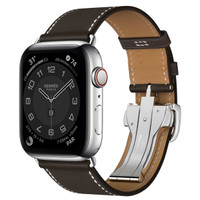 Apple Watch Hermes Series 6 Stainless with Single Deployment Buckle