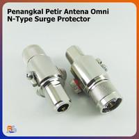 Penangkal Petir Antena Omni N-Type N Male N Female Surge Protector