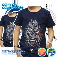 Baju Kaos Anak Distro Laki Laki Terlaris Termurah Megatron Navy