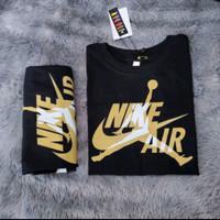 Baju Anak Anak Nike Air Jordan Black / Kaos Hitam Anak Laki
