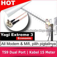 Antena Penguat Sinyal Mifi XL GO Huawei E5577 Yagi Extreme 3 Eco - TS9