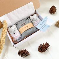 Gift Box Premium New Born Baby JUMPER for Boy & Girl - A, BOY / COWO