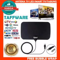 Taffware Antena TV Digital DVB-T2 4K High Gain 25dB TFL D139