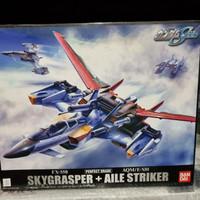 Sky Grasper + Aile Striker Strike Gundam 1/60 Perfect Grade Bandai PG
